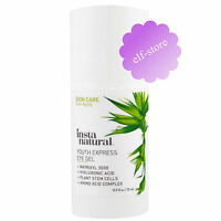InstaNatural Eye Gel Cream with Hyaluronic Acid + Plant Stem Cells  (15 ml)
