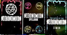 The NECRONOMICON LOT 3 books Gates of Spellbook Simon + BONUS BOOK & FREE GIFTS