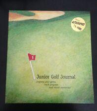 Junior Golf Journal-Autographed