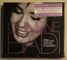 CHIMENE BADI Dis-Moi Que Tu M'Aimes CD + DVD ALBUM BOXSET ## BRAND NEW SEALED ##