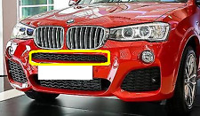New Genuine BMW X3 F25 X4 F26 M Sport Front Bumper Upper Center Grille 8056936
