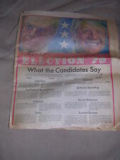 Election '76 Supplement to Sunday Bulletin of Philadelphia 10/31/76
