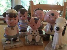 Peanut's Gang Large Ceramic Figurines - 6 pieces