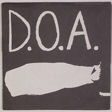 """D.O.A. Disco Sucks 7"""" Punk Wrong KBD WRONG Canada '93 Press EP"""