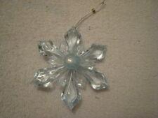Lt Blue Acrylic Snowflake
