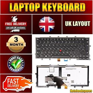 Replacement Laptop Keyboard For IBM ThinkPad X240 X240S X260 0C44049 UK Backlit