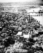 "Koblenz, Germany City Ruins after Allied Bombing 8""x 10"" World War II Photo 639"