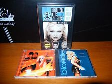 BLONDIE Remixed Remade Remodeled Curse Of MINT CD + VH1 Behind The Music NEW DVD