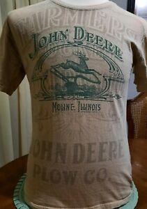 John Deere T shirt Medium 38 chest Moline Illinois Farmer Plow Company
