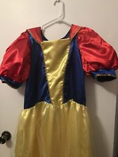 Snow White Adult Costume One Size Great Condition