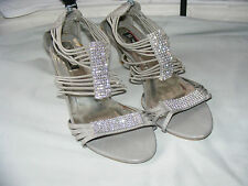 Strappy/Ankle Straps Faux Leather Upper Bridal Shoes