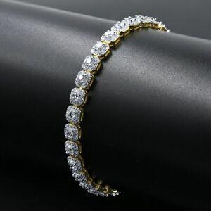 12.5Ct Round Cut D/VVS1 Diamond Tennis Bracelet 14k White Gold Finish 8 Inch 3mm
