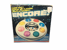 Toytronic RARE 1979 ENCORE! Electronic Memory Game 2381 - FOR PARTS OR REPAIR