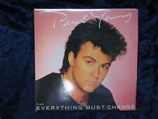 Paul Young - Everything Must Change - British 45 Vinyl Record (1984) Double Pack
