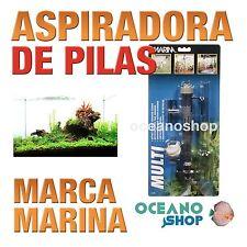 MARINAASPIRADORADEPILAS Sifon Limpia Fondo Acuario 3 en 1 acuario gambario