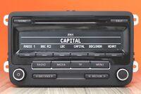 VW TOURAN EOS GOLF PLUS PASSAT POLO JETTA CD RADIO PLAYER RCD310 DAB CAR STEREO