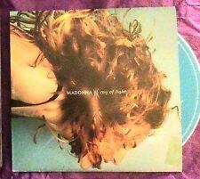 MADONNA Ray of Light RARE Australian 2 track CARD CD Single
