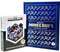 Minecraft Survival Book, Minecraft Annual 2019- 5 Books Collection Set by Mojang