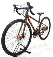 2017 Salsa Vaya 49.5cm Steel Gravel Touring Bike 2x8 Shimano WTB