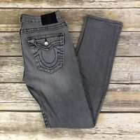 True Religion Womens Jeans Gray Size 27