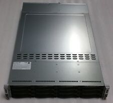 "SuperMicro 2-Node 2u Server w/ X9DRT-HF Motherboards,2x PSU,12x 3.5"" Bays, Rails"