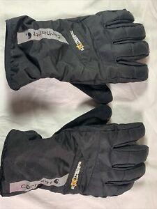 Men's Carhartt Bad Axe Winter Gloves A620 Black Size XL FREE SHIPPING!