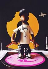 """Pay Jay X Stussy J Dilla Figure + 7"""" Donuts Picture Disc Vinyl Set Rare!!!!"""