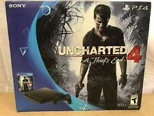 Sony Playstation PS4 Slim 500GB Console 4.73fw w/ Uncharted 4 Bundle ❤️️✅SEALED