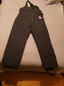 CANADA GOOSE Bib Overall Snow Pants Size 2XL Black