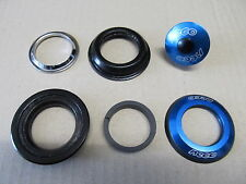 "Neco H148 Head set 1 1/8"" Semi-integrated 44mm ZS44 blue 127g"