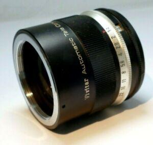 Vivitar 3X teleconverter FD lens for Spotmatic tele-converter M42 mount screw