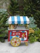 Miniature Dollhouse FAIRY GARDEN ~ Kids at Play Playground Ice Cream Cart ~ NEW