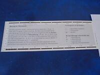 Perforation gauges for stamps,_ Zähnungsschlüssel für Briefmarken