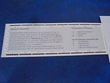 Perforation gauges for stamps Zähnungsschlüssel für Briefmarken