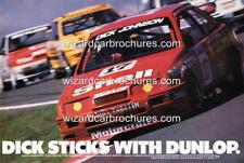 1988 DICK JOHNSON SIERRA RS500 BATHURST A5 DISPLAY CARD BIANTE 1:18 DIORAMA