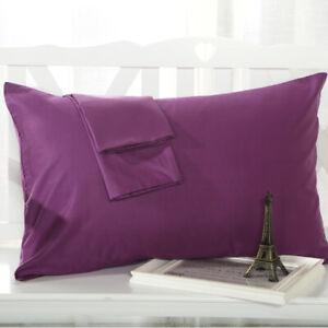 2pcs Pillowcase Egyptian Cotton Pillow Case Pillows Covers Bedding