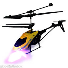 RC Helicopter Mini Aircraft Radio Control Toy 2.5CH Drone Night Flight Mode 2