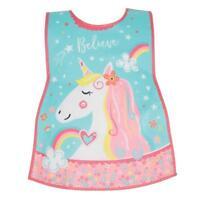 Childrens Apron Tabard  Unicorn in Soft PEVA vinyl from Cooksmart