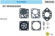 KIT RIPARAZIONE + MEMBRANE membrana CARBURATORE TILLOTSON RK16HU RK 16 HU