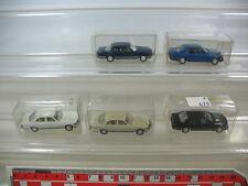 l60-0, 5 #5x Wiking H0, Mercedes-Benz MB, 500 SE, 153 260 E, Top +