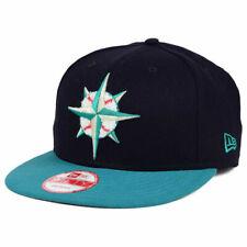 Seattle Mariners MLB Letter Man Snapback New Era 9FIFTY Compass Baseball Hat Cap
