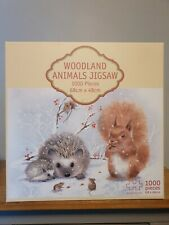 Christmas Gifts - Woodland 1000 Piece Jigsaw Puzzle