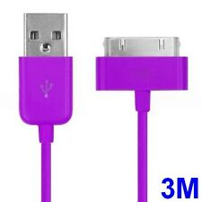 Long 3m 10ft USB Cable Lead for iPhone 4 4S Data Sync Charger Extension Lead