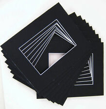 16x20 for 11x14 Black Mat with whitecore 100/pack