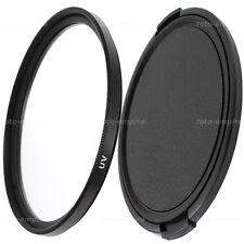 62mm UV Filter & Objektivdeckel lens cap Green.L für 62mm Einschraubanschluss