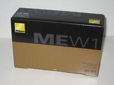 Brand New Nikon ME-W1 Wireless Microphone For Most Nikon DSLR Compatible Cameras
