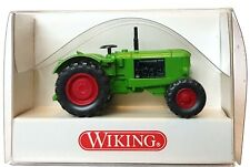 1:87 Scale Wiking 8810124 Deutz Farm Tractor - Green - BNIB