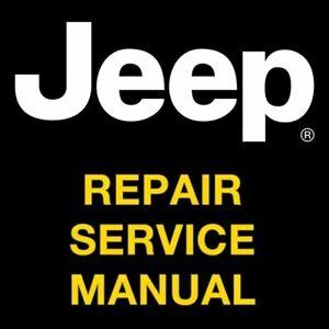 JEEP LIBERTY 2007 2008 2009 2010 2011 2012 REPAIR SERVICE  MANUAL