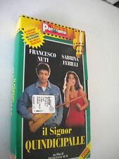 Il signor Quindicipalle VHS Francesco Nuti, Sabrina Ferilli - I Film di Panorama