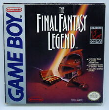 Final Fantasy Legend - box incl map - NO GAME - Nintendo Game Boy DMG-SA-USA